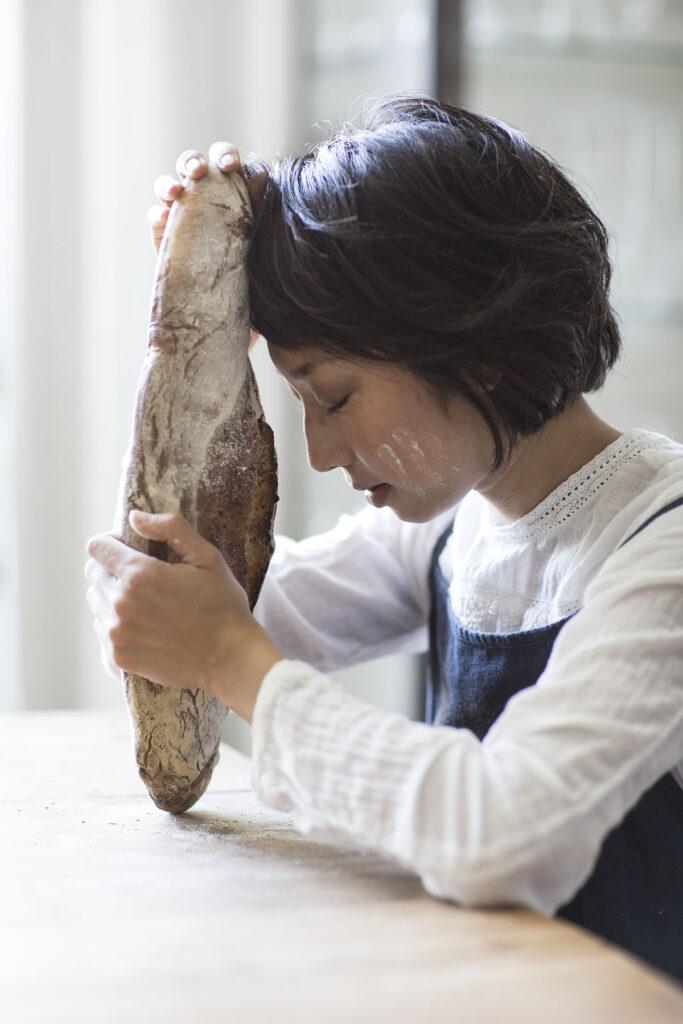 Foto spirituell Brot mit Risa Nagahama
